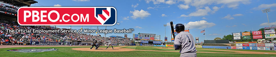 PBEO: Professional Baseball Employment Opportunities